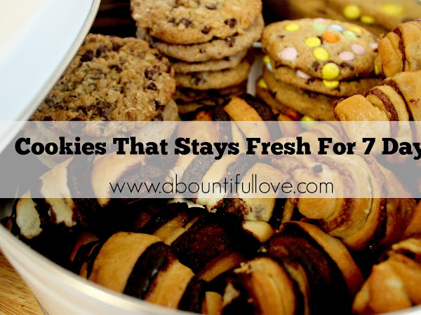 Cookies that Stays Fresh for 7 days.