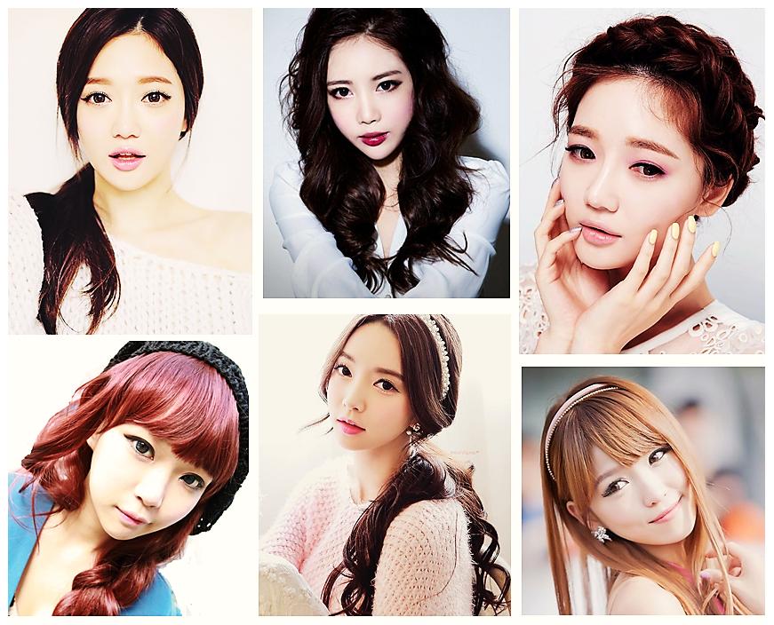 Sencillo y bonito peinados coreanos Imagen de cortes de pelo consejos - PEINADOS COREANOS PARA MUJERES | MUNDO FAMA COREA