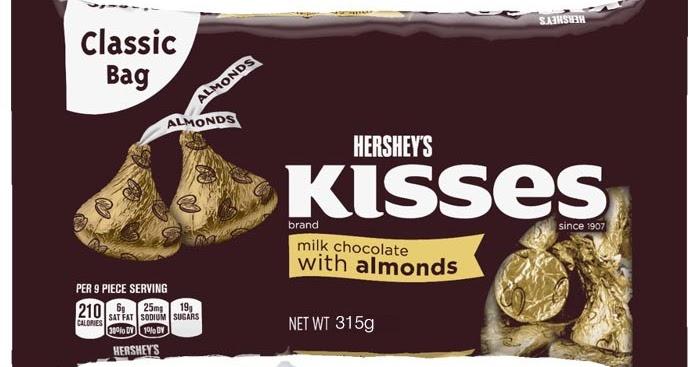 Hershey S Kisses Almond