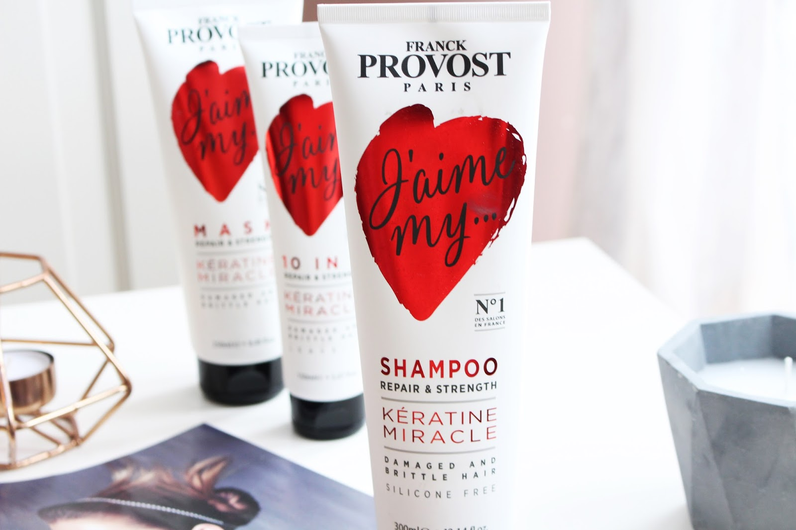Franck Provost ➤ Keratin Miracle, szampon do włosów cienkich i łamliwych