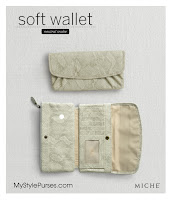 Miche Soft Wallet Neutral Snake