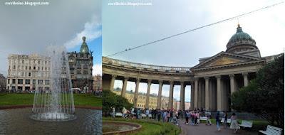 Viaje a Rusia: San Petersburgo: Nuestra Señora de Kazán y Edificio Singer