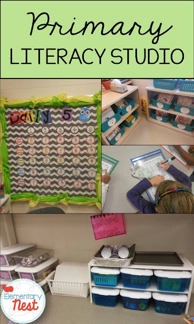 Literacy Studio and Daily 5 in the primary classroom: organization and instruction tips for primary teachers