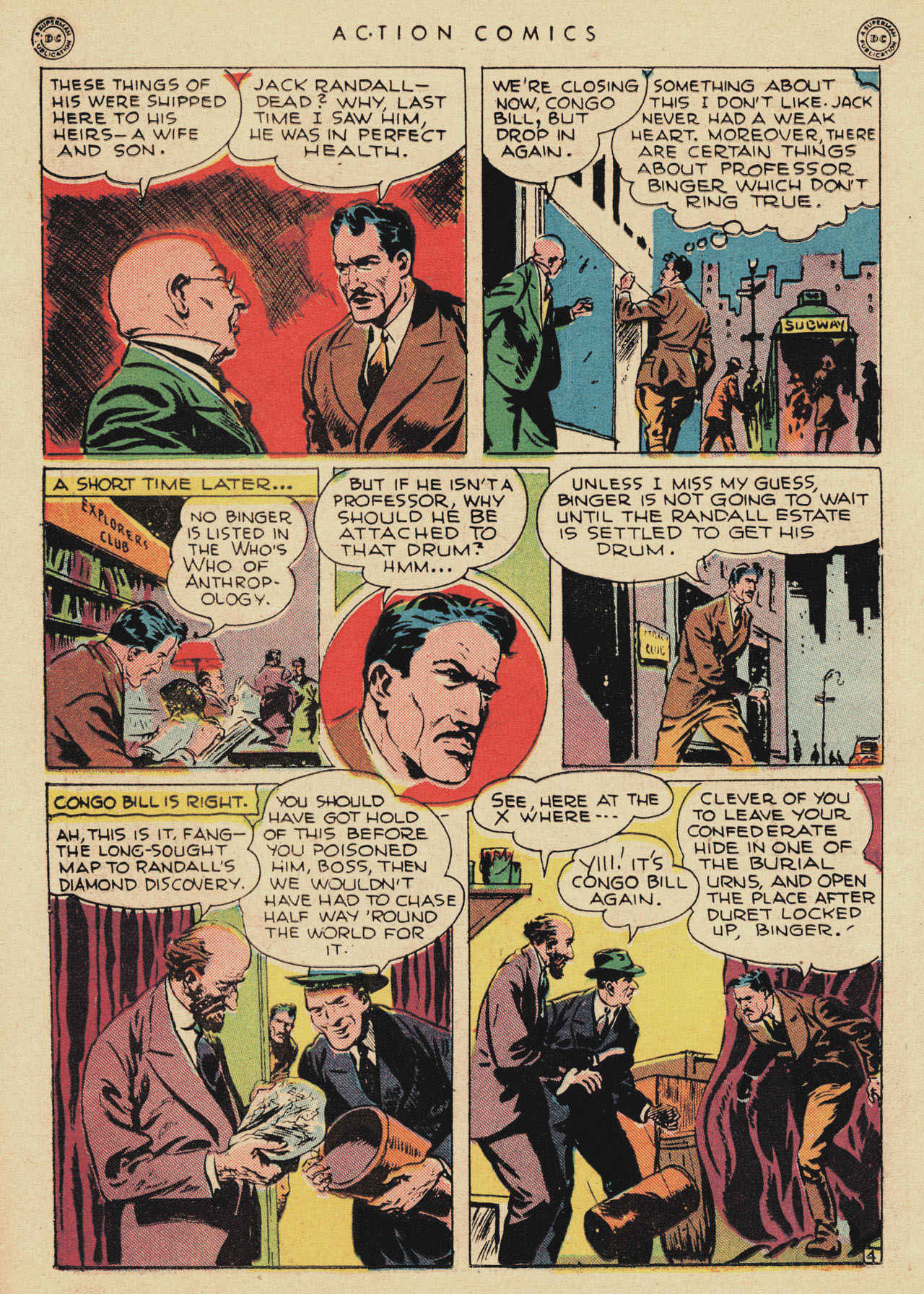 Read online Action Comics (1938) comic -  Issue #94 - 38