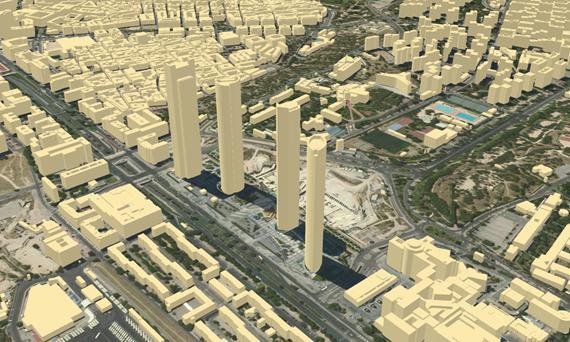 Proyectos en BIM para cartografía, fotogrametría y topografía del Ayuntamiento de Madrid