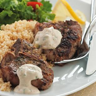 Lemon & Oregano Lamb Chops Recipe - LEBANESE RECIPES
