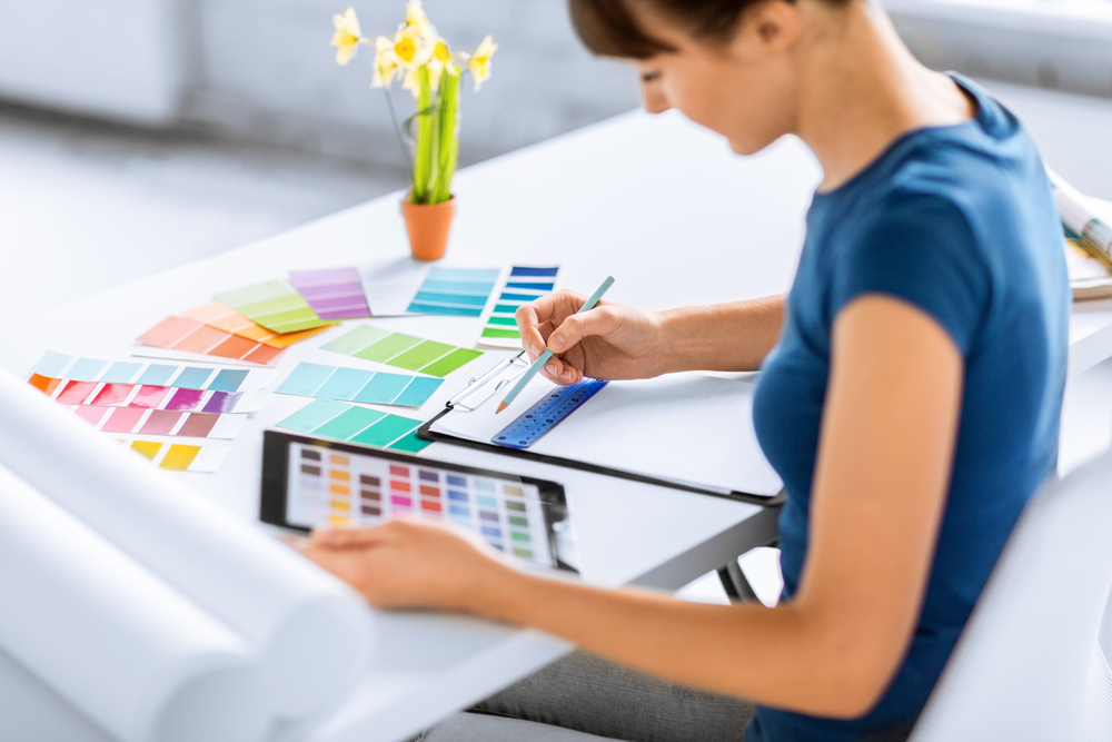 Interior designers are a regulated profession in many states and in these states anyone who desires to be a professional interior designer must become