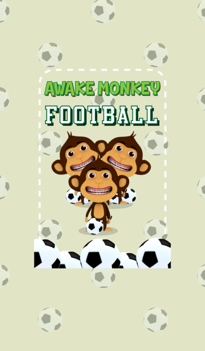 Awake Monkey Football
