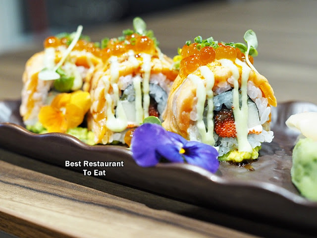 KOUZU Bangsar Bar Restaurant Salmon Kabuki Roll