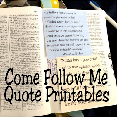 Add a little bit of extra inspiration to your Come Follow Me scripture study with these printable quotes from the prophets and inspired leaders of the Church of Jesus Christ of Latter Day Saints.  These quotes are perfect for Matthew 16 and 17, Mark 9, and Luke 9.