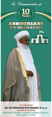 Recession is ordained by God, the only solution is to show piety and repent - Sultan of Sokoto