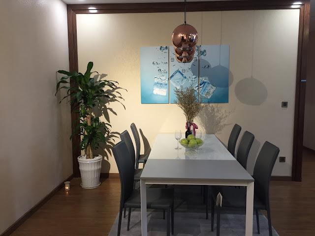 Phòng ăn căn hộ số 3 chung cư Eco Lake View