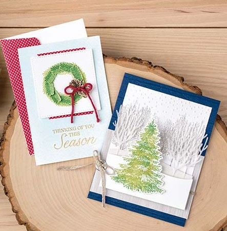 Stampin' Up! 2018 Holiday Catalog ~ 6 Winter Woods Project Ideas