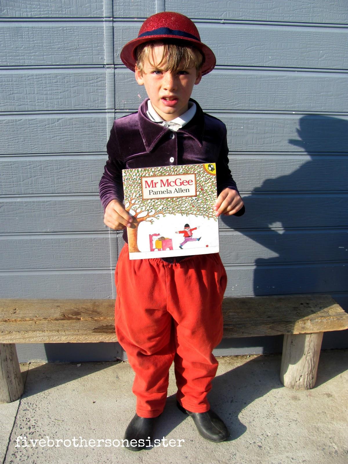 Last week was Childrenu0027s Book Week in Australia.  sc 1 st  five brothers one sister & five brothers one sister: book week characters
