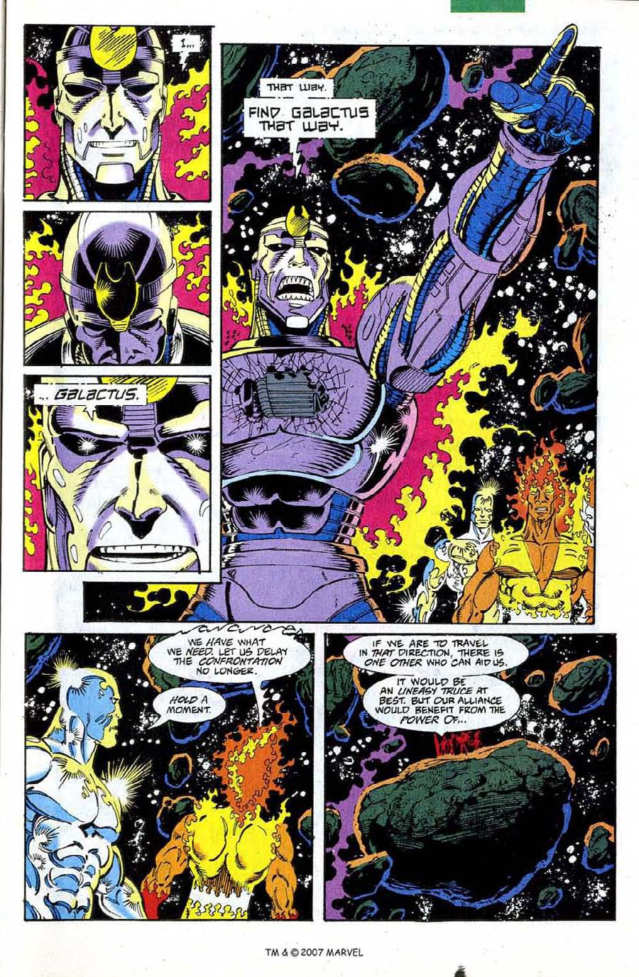 Read online Silver Surfer (1987) comic -  Issue #73 - 31