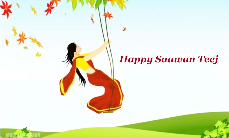 sawan teej images