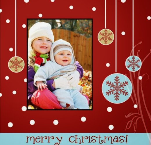 It's Not Too Late! Download These Custom Christmas Cards