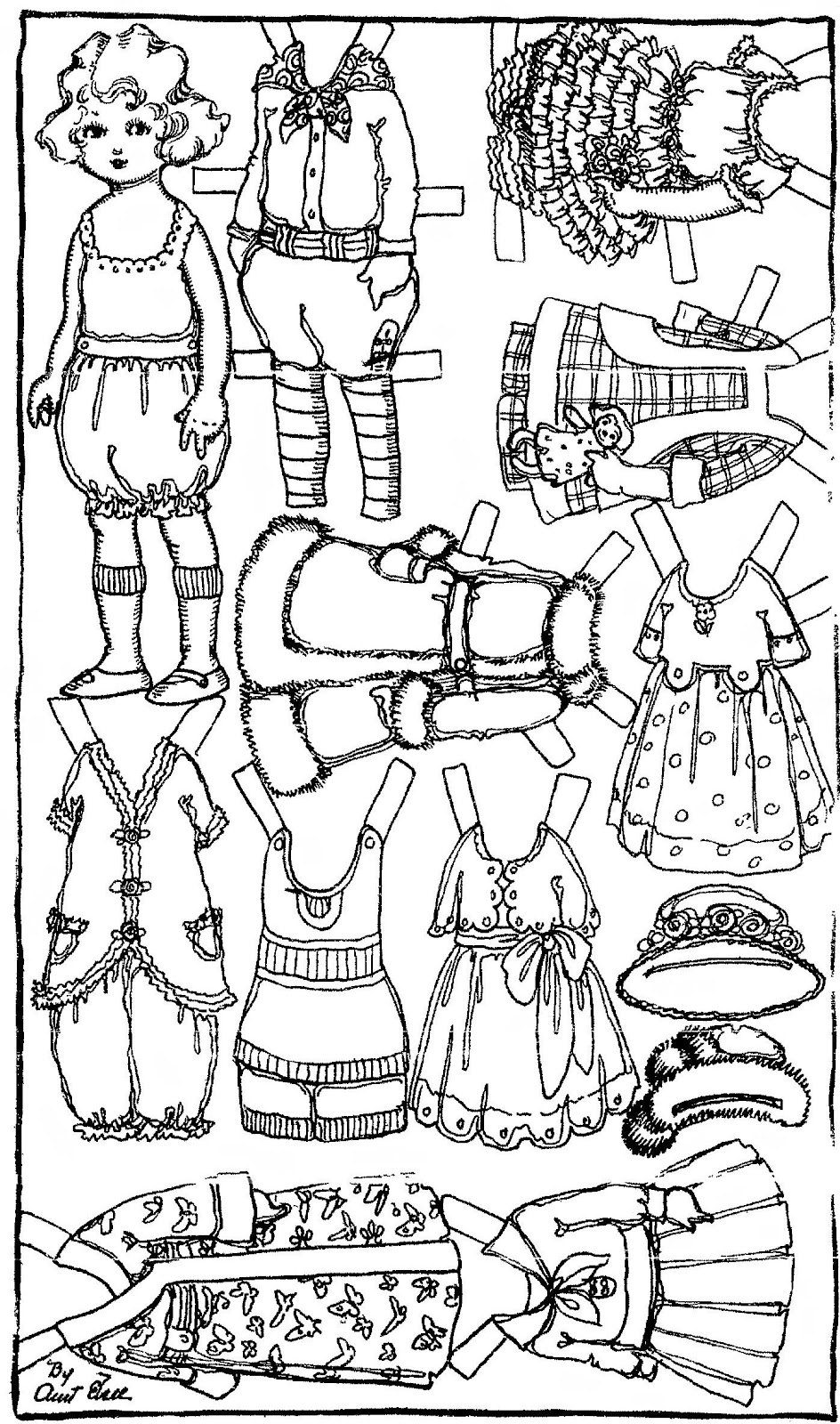 Mostly Paper Dolls: Fun With Aunt Elsie