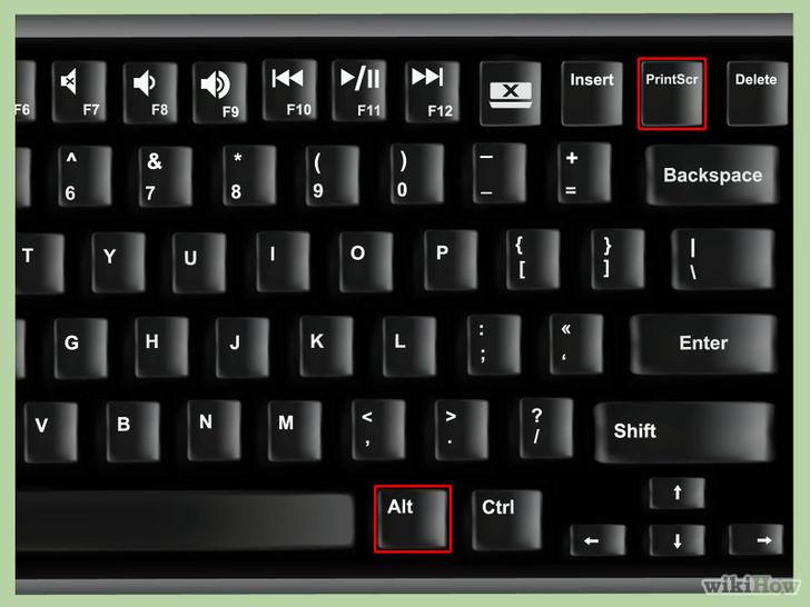 How to take a screenshot on my toshiba satellite laptop