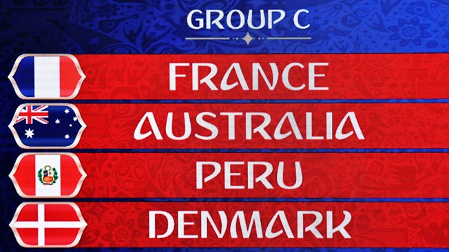 FIFA World Cup 2018 Group C Schedule, Teams, Prediction