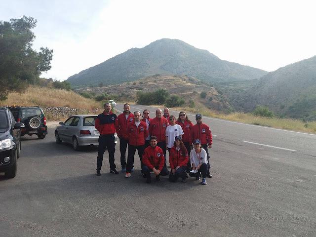 """Η Ελληνική Ομάδα Διάσωσης παρούσα στον 12ο """"Αργειακό - Μυκηναϊκό Δρόμο"""""""