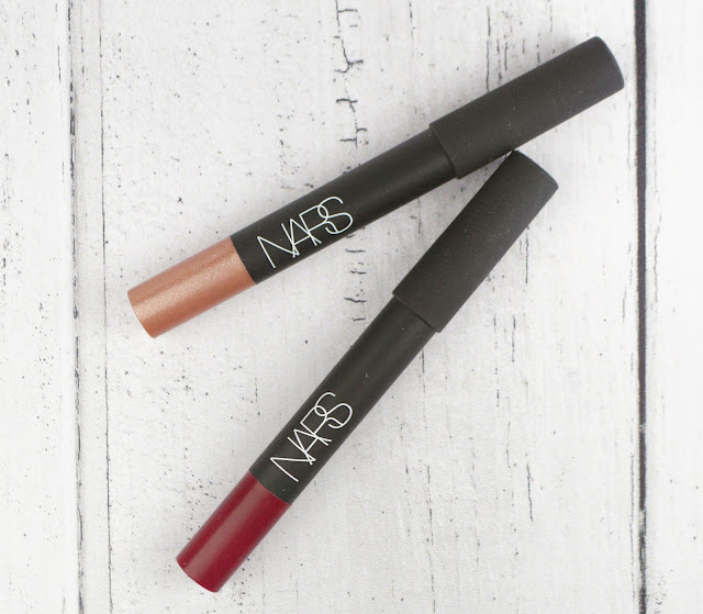Simple NARS Lip Crayon Flatlay Lovelaughslipstick Blog