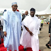 Buhari In Lagos For Projects (Photos)
