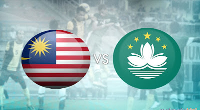 Live Streaming Macau vs Malaysia Perlawanan Persahabatan 25 Ogos 2017