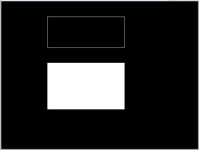 C graphics program to draw a rectangle and bar