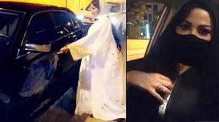 المذيعة السعودية، شيرين الرفاعي، تغادر السعودية قبل التحقيق معها بسبب أزمة ملابسها غير المحتشمة