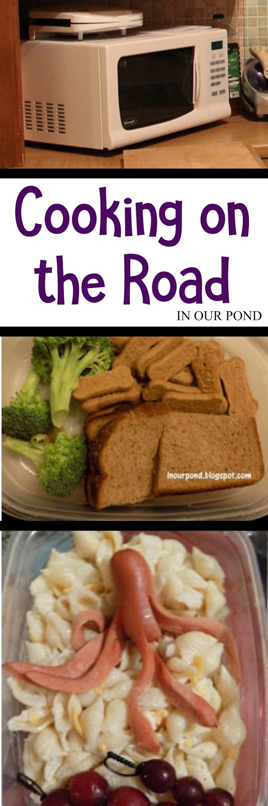 Pirate Road Trip Series: Cooking on the Road from In Our Pond #travel #hotel #roadtrip #travelwithkids #hotelcooking #roadtripfood #hotelwithkids #roadtripwithkids #food #lunch #bento #piratefood #pirateparty