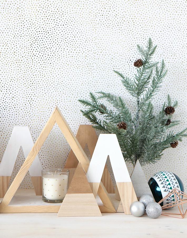 8 ideas Navidad sencillas y naturales