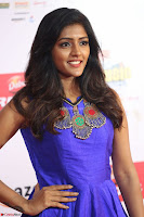 Eesha in Cute Blue Sleevelss Short Frock at Mirchi Music Awards South 2017 ~  Exclusive Celebrities Galleries 048.JPG