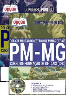 Apostila PM-MG 2017 CFO