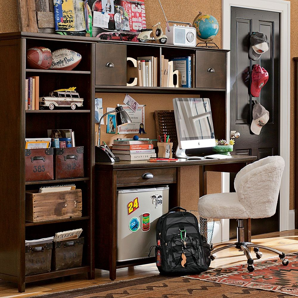 Study Room Design Ideas: Stylish Ideas For Teenage Study Room Designs With Cool