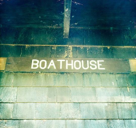 vintage boathouse