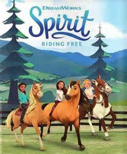 Spirit Riding Free poster