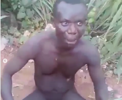 """""""We Kidnap Children & Use Human Faeces And Urine For Money Ritual"""" - Man Caught"""