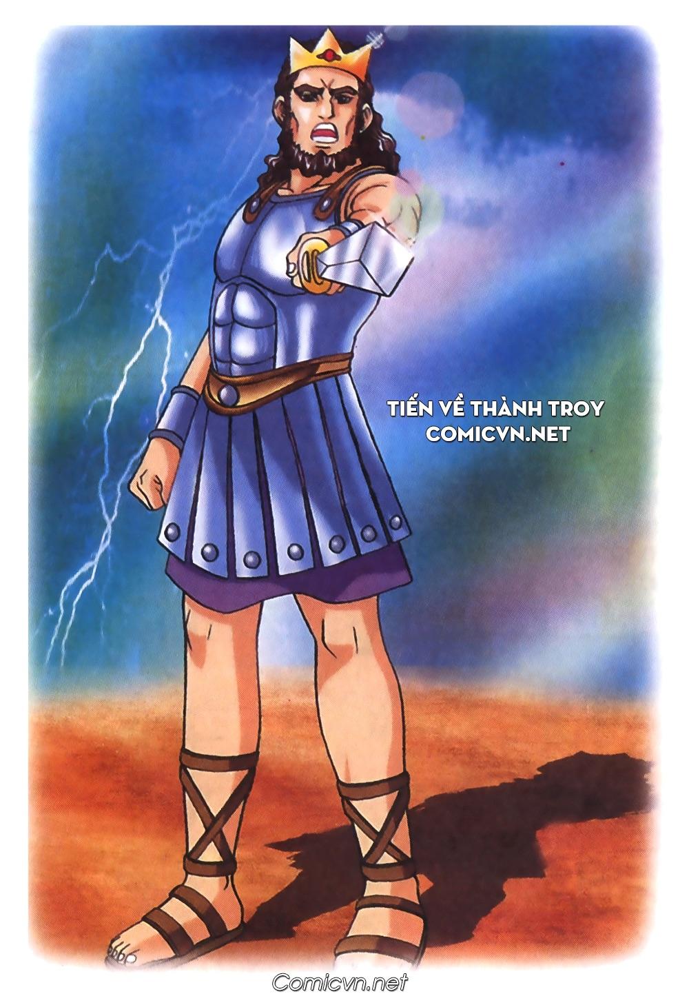 Thần Thoại Hy Lạp Màu - Chapter 54: Tiến về thành Troy - Pic 1