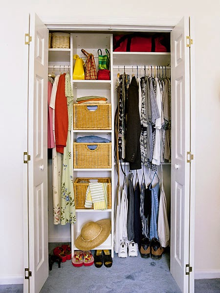 How to organize your closet - Storage solutions for small closets ...