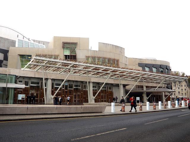 Scottish Parliament, Royal Mile, Edinburgh