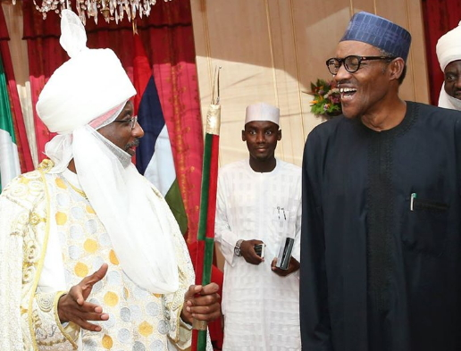 sanusi warns buhari