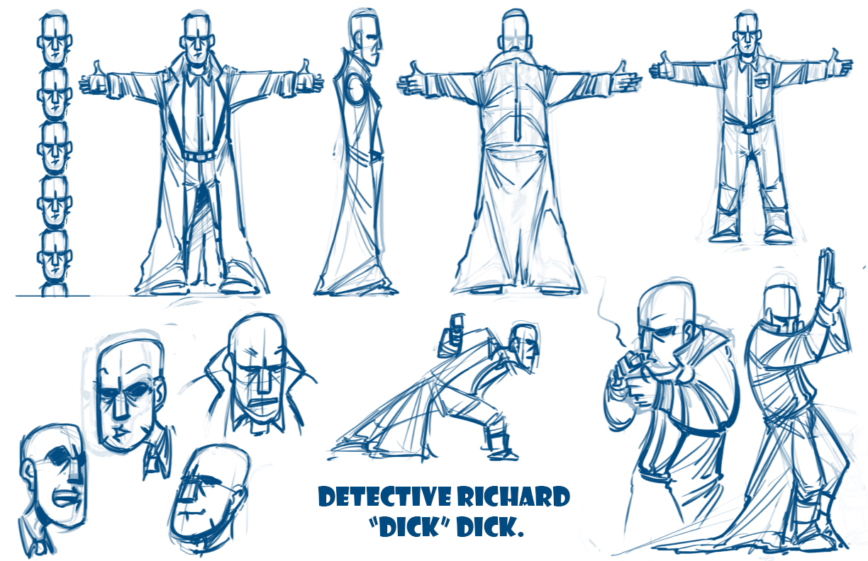 Character Design Basics : Basic character design sheet pixshark images