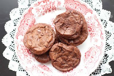 cookie chocolat piment fleur de sel