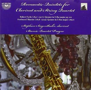 Thieriot & Fuchs: Romantic Quintents for Clarinet and String Quartet