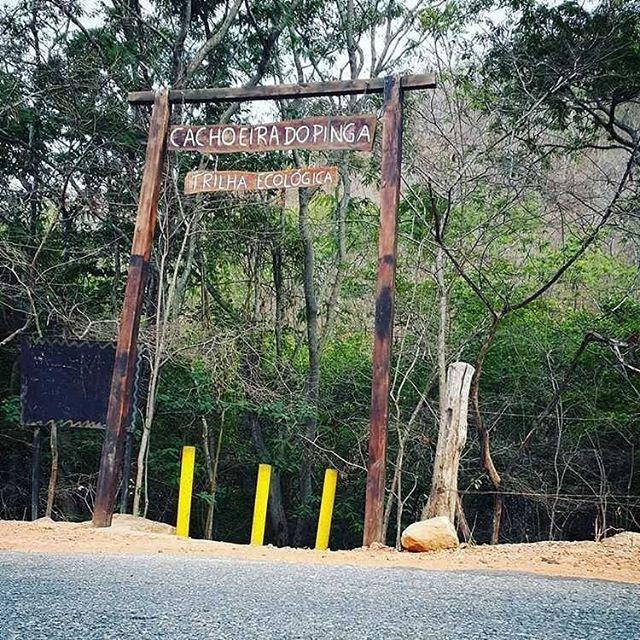 Cachoeira do Pinga em Portalegre/RN ganhará o seu primeiro estacionamento