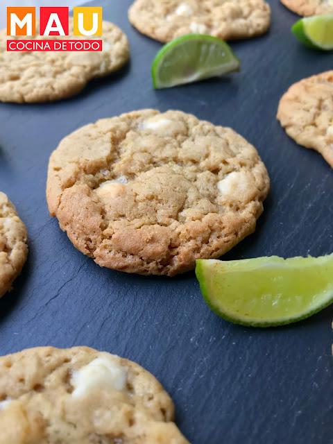 galletas de limon y chispas de chocolate blanco mau cocina de todo receta facil