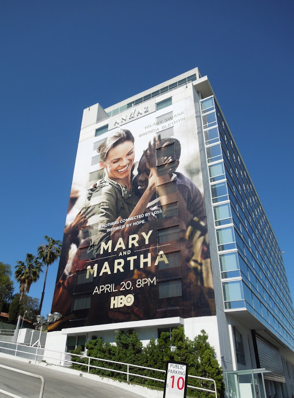 Mary and Martha HBO billboard