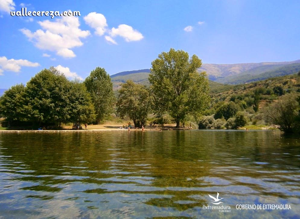 """La Pesquerona"". Piscina natural en el Valle del Jerte"