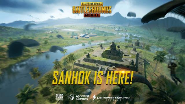 Strategi Bermain di Map Sanhok PUBG Mobile Update Terbaru